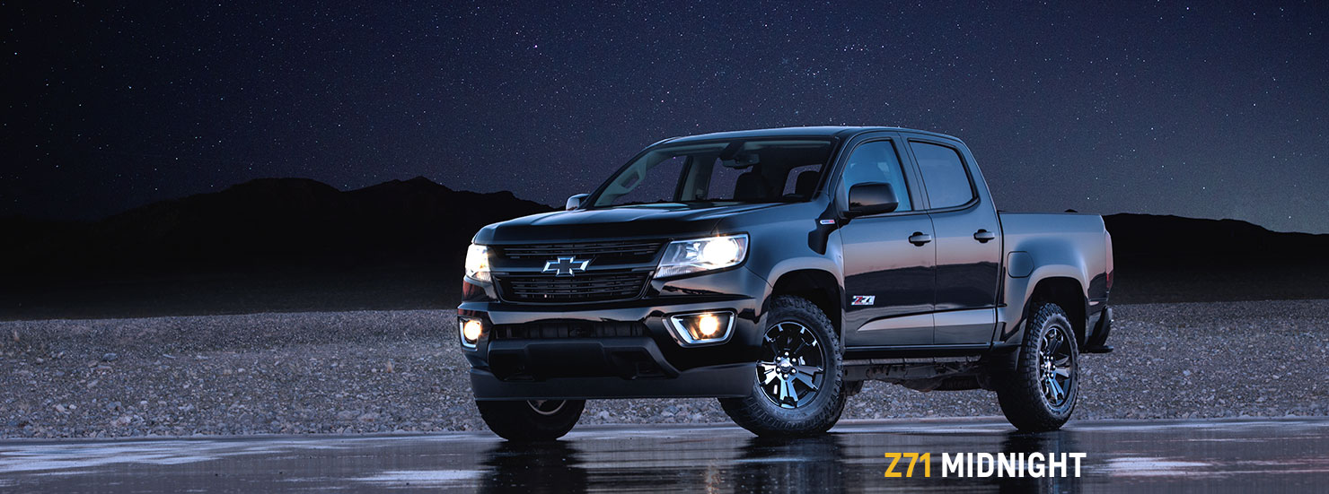 2016 chevrolet colorado z71 midnight edition at chicago auto show. Black Bedroom Furniture Sets. Home Design Ideas