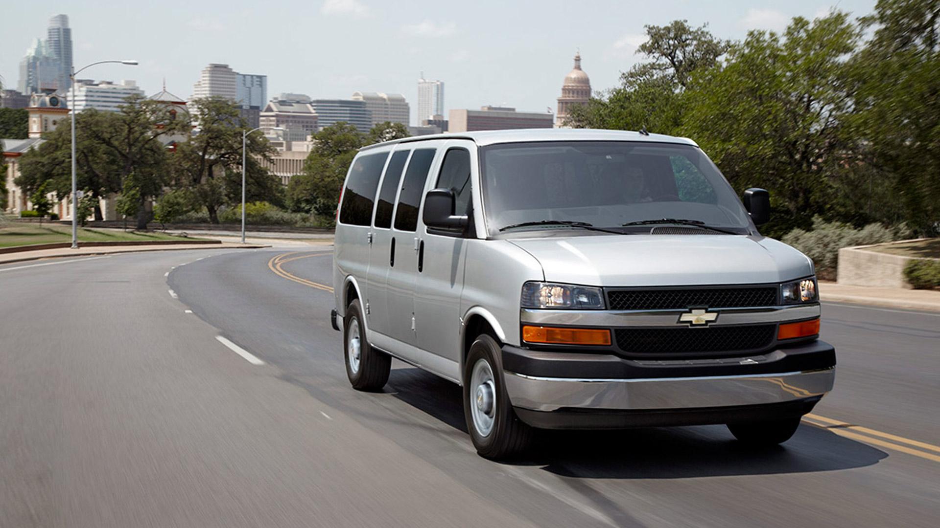 the 2016 express passenger van from chevrolet. Black Bedroom Furniture Sets. Home Design Ideas