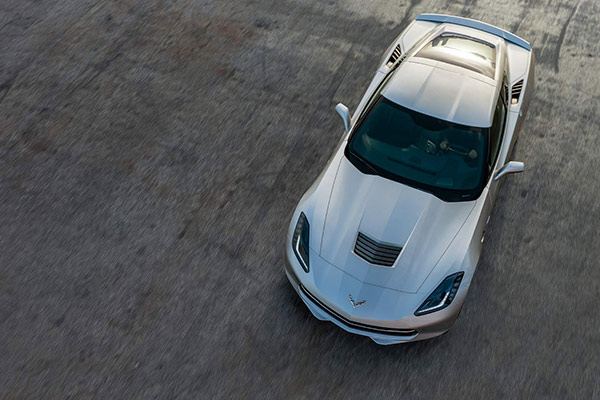 2016 Chevrolet Corvette Stingray Overhead