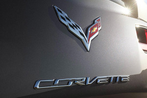 2016 Chevrolet Corvette Stingray Badge