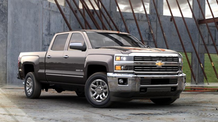 2016 Chevrolet Silverado-2500HD test drive