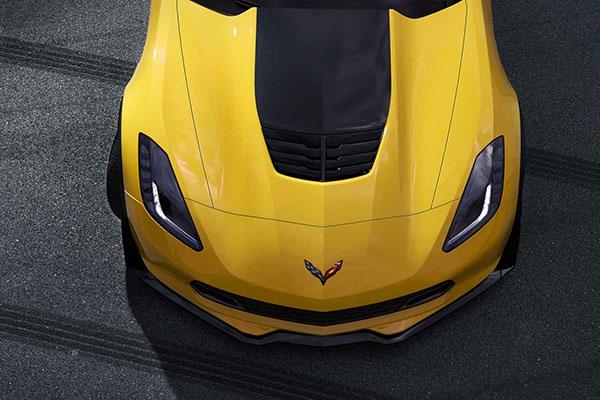2016 Chevrolet Corvette Z06 Overhead