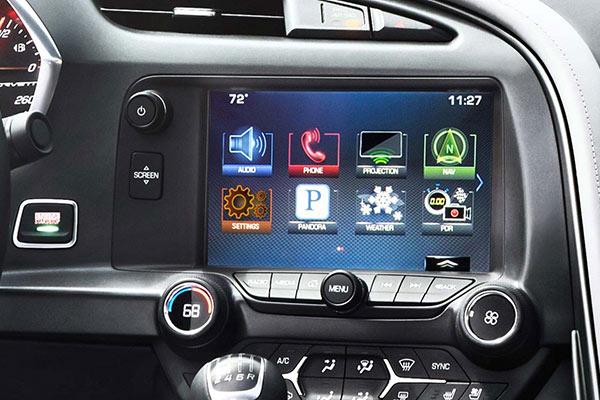2016 Chevrolet Corvette Z06 Screen