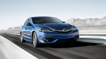 2016 Acura ILX driving