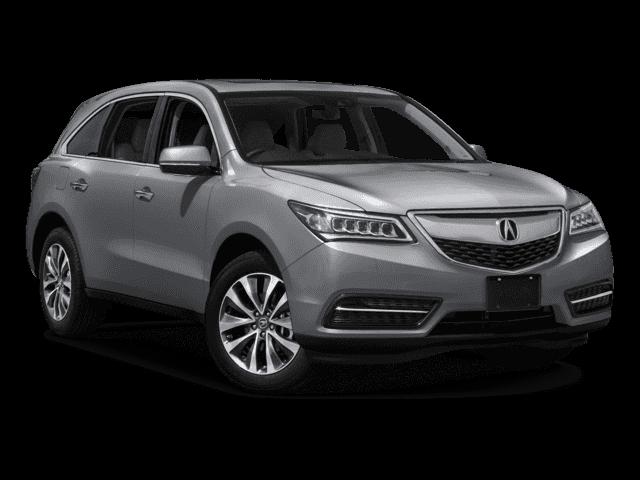 Lunar Silver Metallic 2016 Acura MDX Navigation
