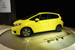 Honda Unveils All-New 2015 Fit