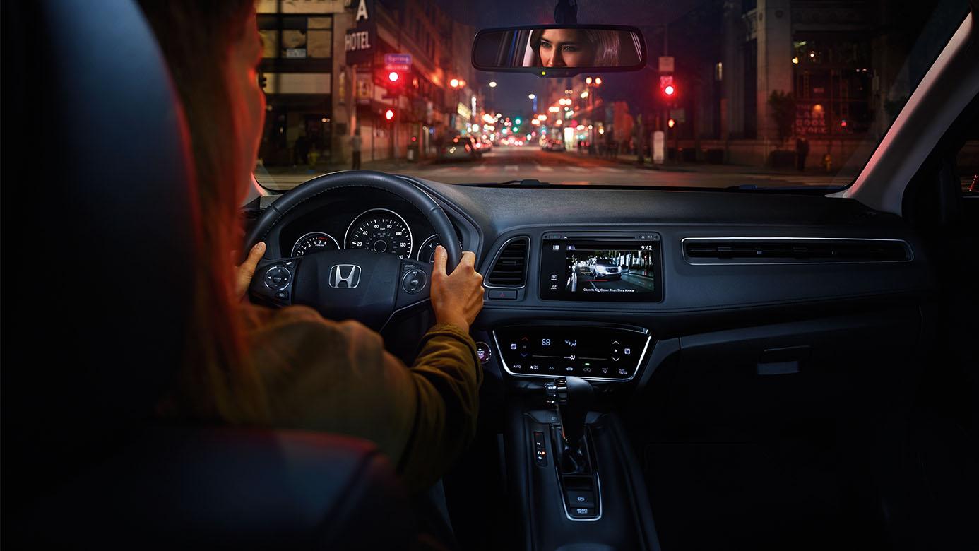 Driving HR-V