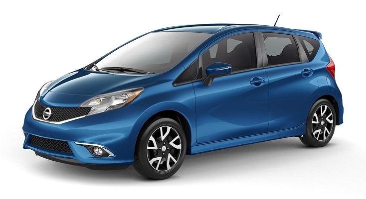2016 Nissan Versa Note Blue