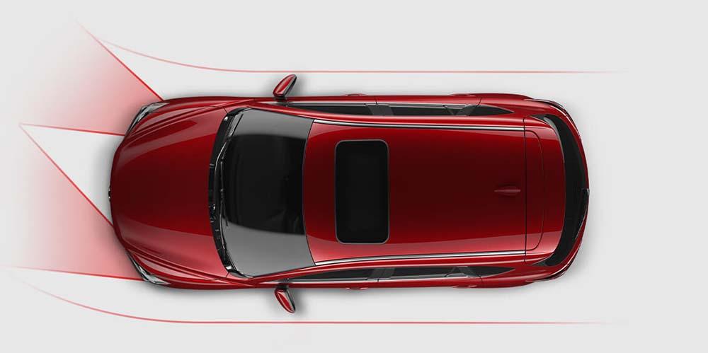 2016 Mazda CX5 overhead