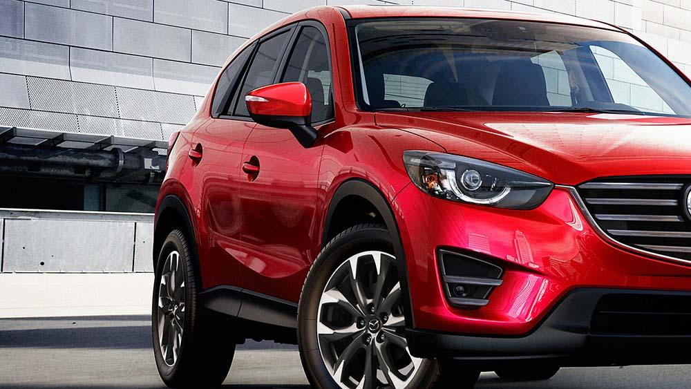 2016 Mazda CX5 Red