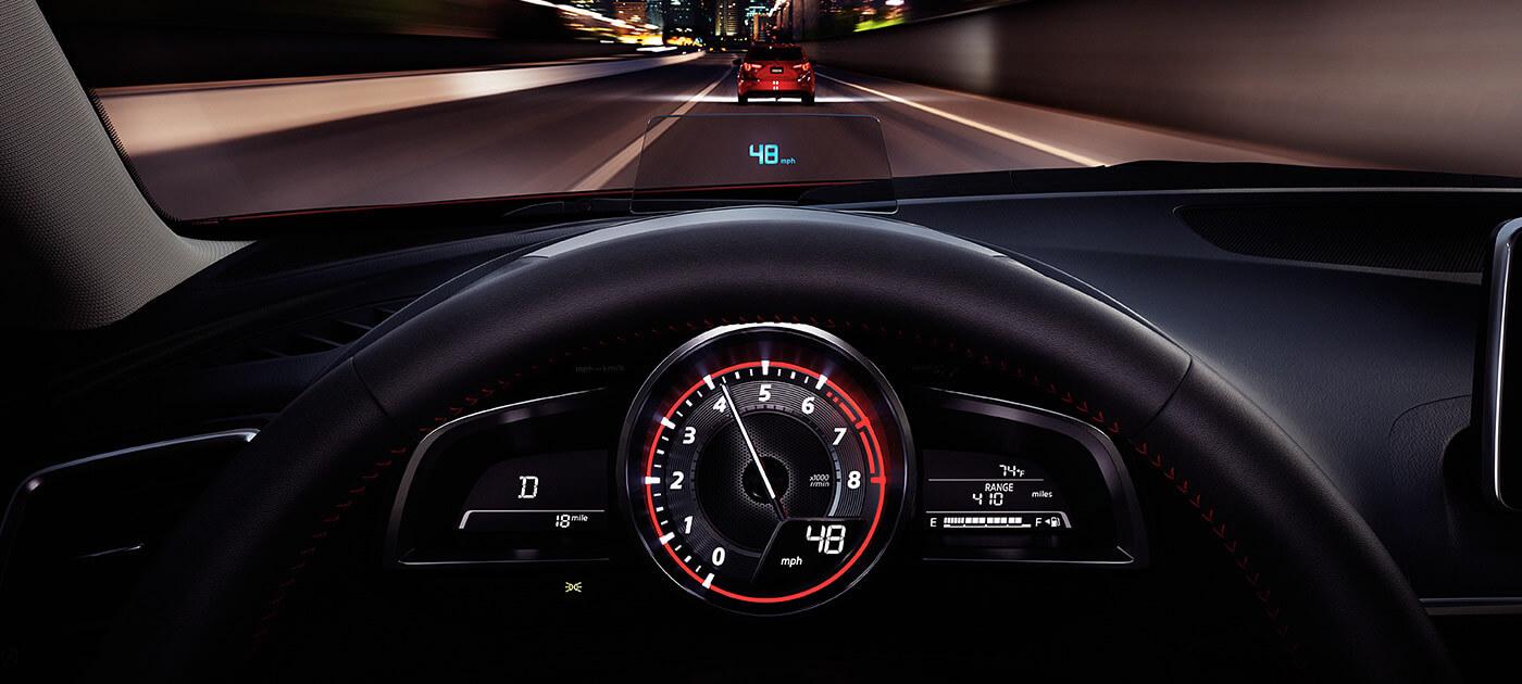 2016 Mazda3 Interior