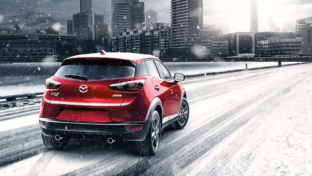 2017 Mazda CX3 Snow