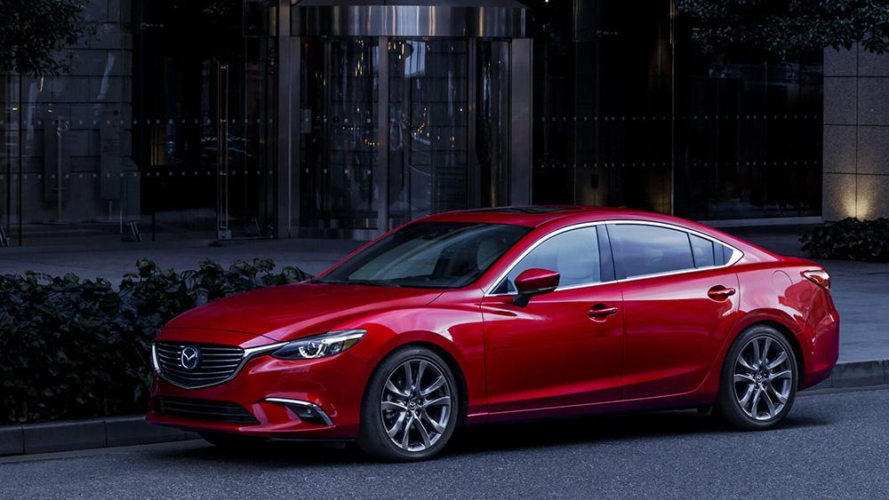 2017 Mazda6 Parked