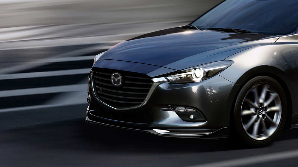 2017 Mazda3 Front