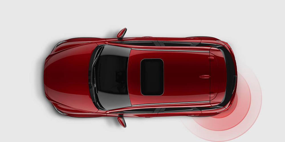 2017 Mazda3 Blind Spot