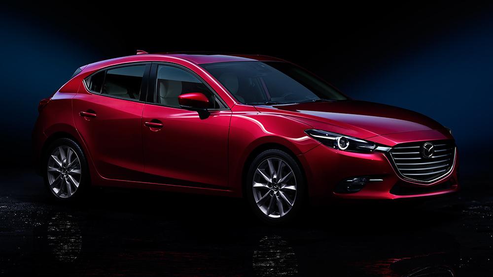 2017 Mazda3 Red