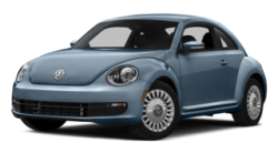 2015 VW Beetle Blue
