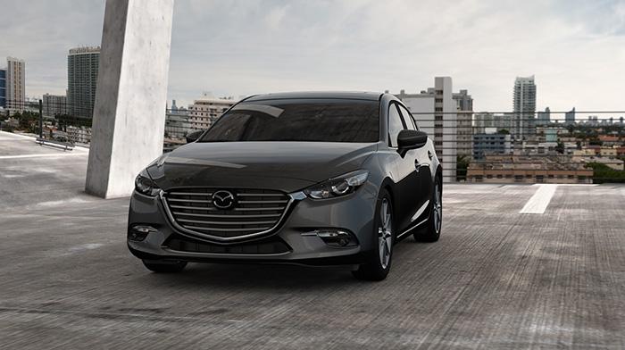 2017 Mazda3 Gray
