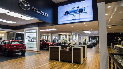 Headquarter Mazda Interior