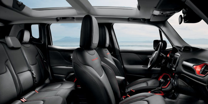 2017 Jeep Renegade Seats