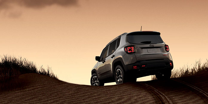 2017 Jeep Renegade Rear
