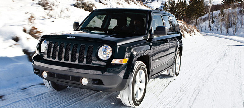 2017 Jeep Patriot Snow