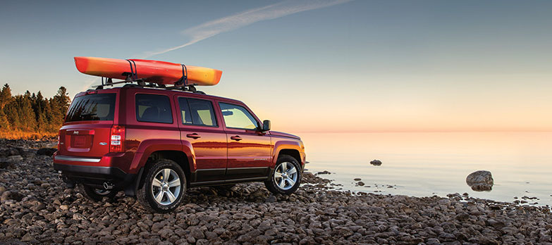 2017 Jeep Patriot Beach
