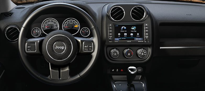 2017 Jeep Patriot Dash