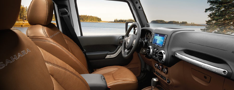 2016 Jeep Wrangler comfrotable interior