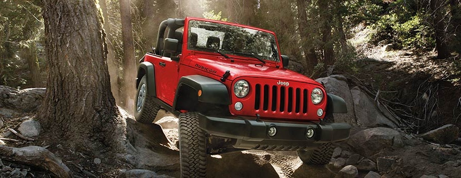 Red 2016 Jeep Wrangler