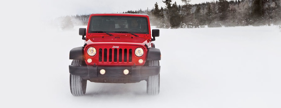 2016 Jeep Wrangler Red Exterior