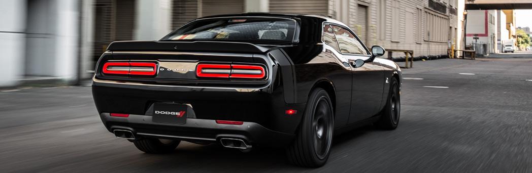 2016 Dodge Challenger black exterior