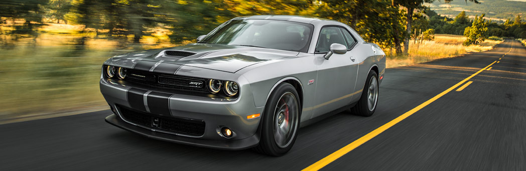 2016 Dodge Challenger on the road