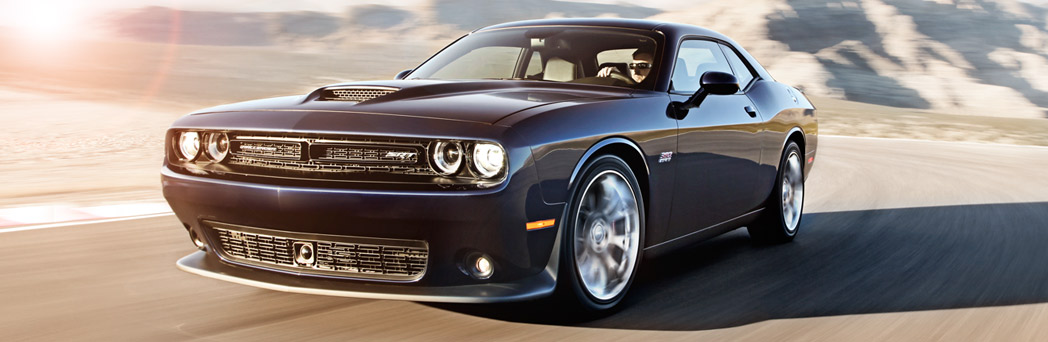 2016 Dodge Challenger up close