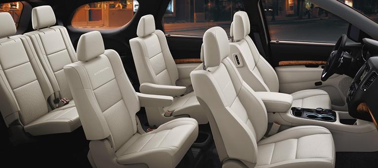 2017 Dodge Durango Seats