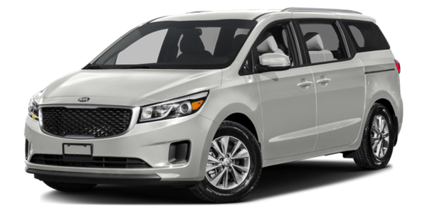2016 Kia Sedona light exterior