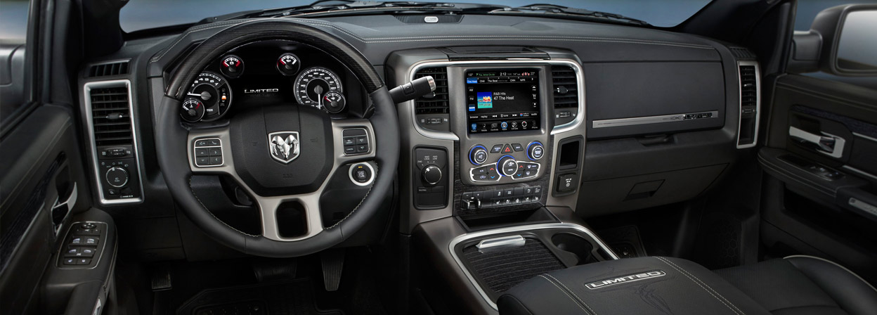 2016 Ram 2500 interior technology