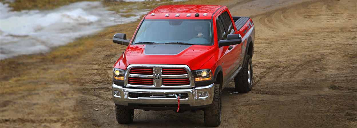 2016 Ram 2500 Trims red exterior