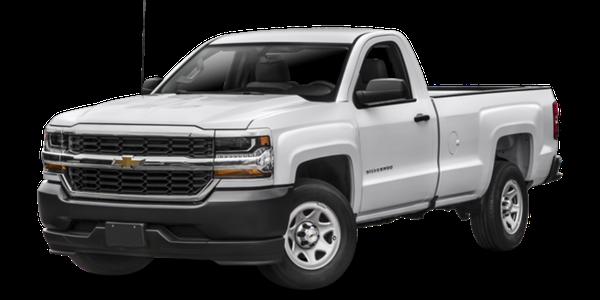 2016 Chevrolet Silverado 1500 white exterior