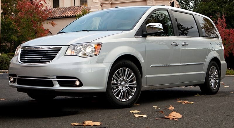 2016 Chrysler Town & Country up close