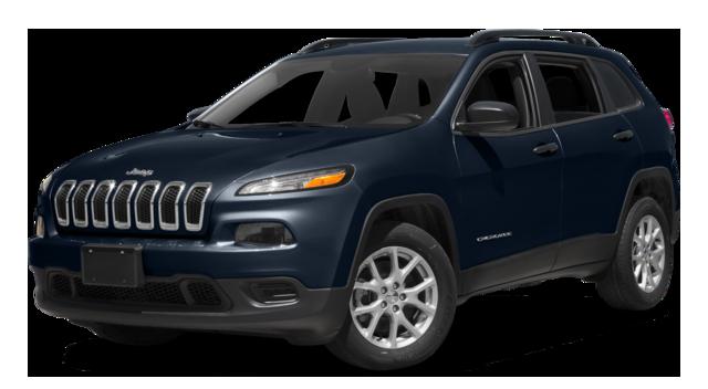 2016 Jeep Cherokee blue