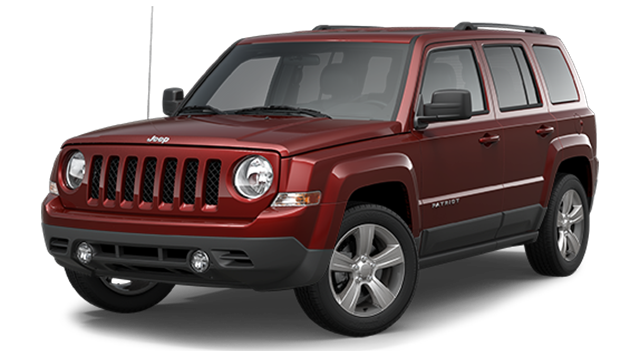 2016 Jeep Patriot red