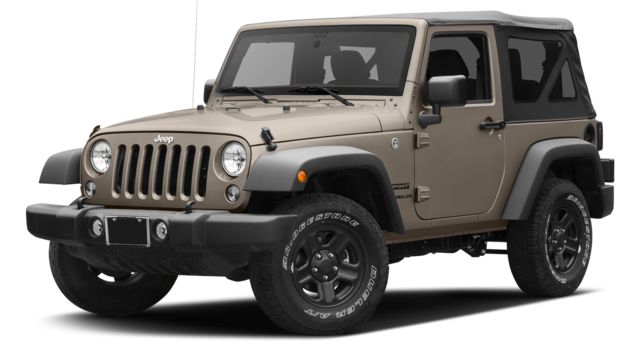 2016 Jeep Wrangler brown