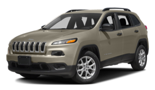 2016 Jeep Cherokee Tan