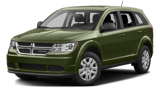 2016 Dodge Journey Green
