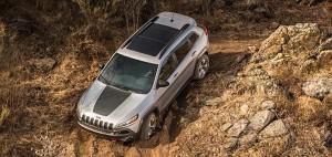 2017 Jeep Cherokee Mud