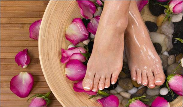 Lexus of Edmonton Sol Spa Pedicures