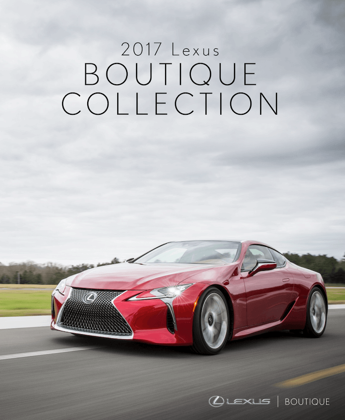 2017 Lexus Boutique Collection