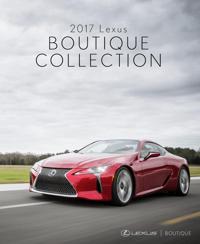 2017 Lexus Boutique Collection