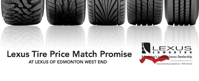 Lexus Tire Price Match